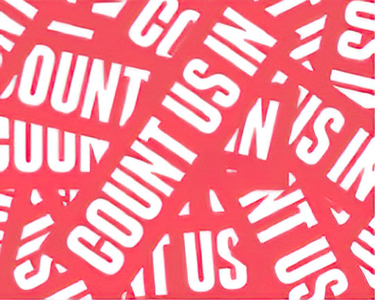 Count Us In logo